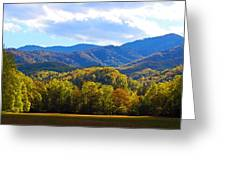 Heart Of Cataloochee Greeting Card