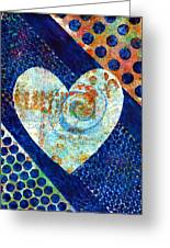 Heart Of Hearts Series - Elated Greeting Card
