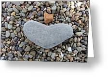 Heart Of Stone Greeting Card
