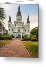 Heart Of The French Quarter Greeting Card