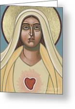 Heart Of The Mother 252 Greeting Card
