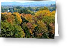 Heart Of The Ozarks Greeting Card
