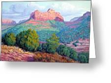 Heart Of The Southwest Greeting Card