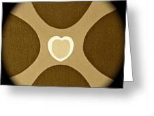 Heart Three Greeting Card