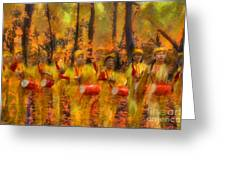 Heartbeat Of Autumn Greeting Card