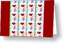 Heartful 2 Greeting Card