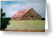 Heartland Barn Greeting Card