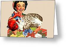 Hearts And Minds Greeting Card