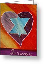 Hearts And Stars Forever Greeting Card