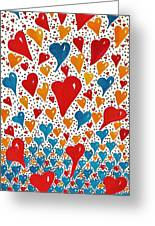 Hearts For You Greeting Card