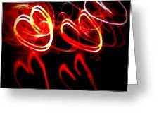 Hearts In Color Greeting Card