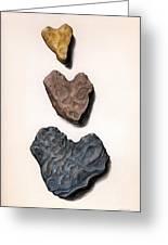 Hearts Rock Greeting Card
