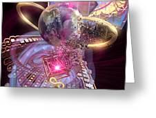 Heartworld 2 Greeting Card
