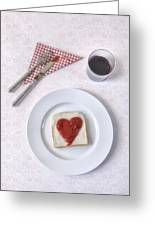 Hearty Toast Greeting Card
