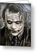 Heath Joker Greeting Card