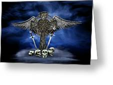 Heaven And War Greeting Card