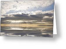 Heaven Greeting Card by Matthew Gibson