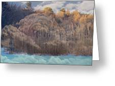 Heavenly  Landscape Greeting Card