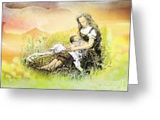 Heavenly Peace Greeting Card