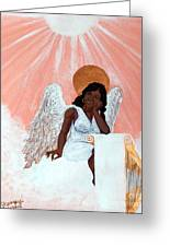 Heavenly Soul Greeting Card by Edward Fuller