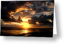 Heavenly Sunset Greeting Card
