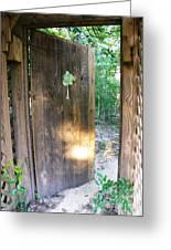 Heavens Door Is Always Open Greeting Card