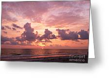 Heavens Glow Greeting Card