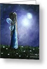 Heaven's Little Helper By Shawna Erback Greeting Card