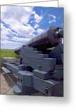 Heavy Artillery Greeting Card