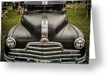 Heavy Metal 1941 Pontiac Greeting Card