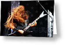 Heavy Metal Greeting Card