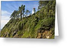 Heceta Head Lighthouse 1 A Greeting Card