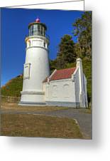 Heceta Head Lighthouse 1 C Greeting Card