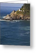 Heceta Head Lighthouse 2 D Greeting Card