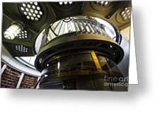 Heceta Head Lighthouse Interior 3 Greeting Card