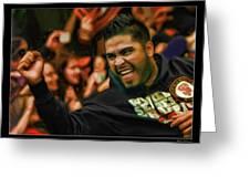Hector Sanchez World Series 2012 Greeting Card