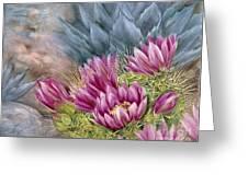 Hedgehog In Bloom Greeting Card