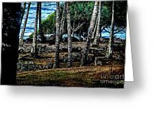 Heiau Wailua River Greeting Card