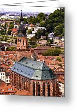 Heidelberg Church Of The Holy Spirit Greeting Card