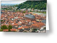Heidelberg Deutschland Germany Greeting Card