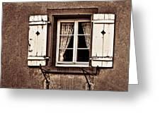 Heidelberg Window Greeting Card