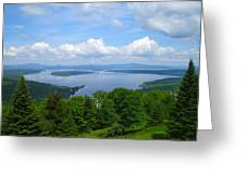 Height Of The Land A2 Greeting Card