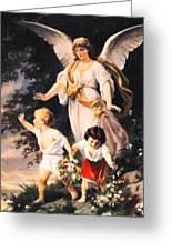 Heiliger Schutzengel  Guardian Angel 6 Pastel Greeting Card