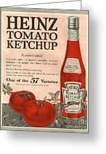 Heinz 1910s Usa Greeting Card