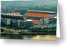 Heinz Field Panorama Greeting Card