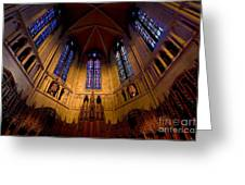 Heinz Memorial Chapel Pittsburgh Pennsylvania Greeting Card