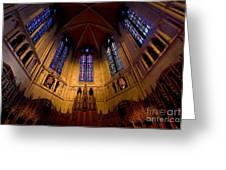 Heinz Memorial Chapel Pittsburgh Pennsylvania Greeting Card by Amy Cicconi