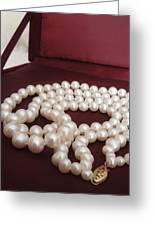 Heirloom Pearls Greeting Card