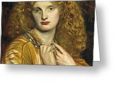 Helen Of Troy Greeting Card by Philip Ralley