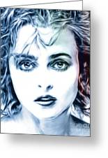 Helena Bonham-carter Greeting Card